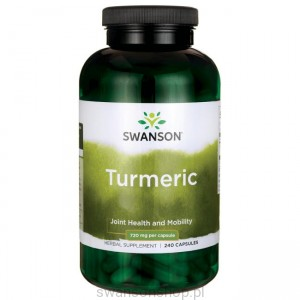 Turmeric 720mg 240kaps - suplement diety