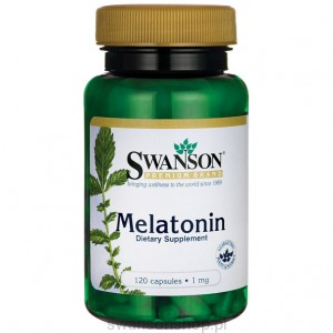 Melatonina 1mg 120 kaps - suplement diety