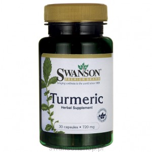 Turmeric 720mg 30kaps - suplement diety