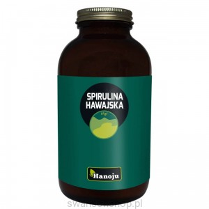 Hanoju Spirulina Hawajska 500 mg 650 tabletek