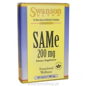 SAMe 200mg 60tabl - suplement diety
