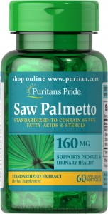 Puritan's Pride Saw Palmetto Ekstrakt 160 mg
