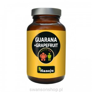 Hanoju Guarana+Grapefruit 450mg 60 kapsułek