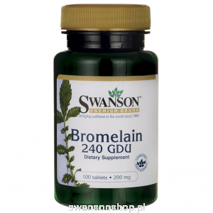 Bromelina 200mg 100tab - suplement diety