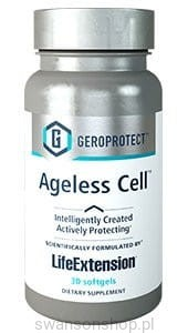 GEROPROTECT™ Ageless Cell™ LifeExtension (30 kapsułek) - suplement diety