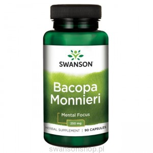 Bacopa Monniera BaCognize extr. 90kaps - suplement diety