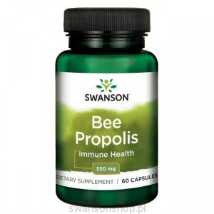 Bee Propolis 550mg 60 kaps - suplement diety