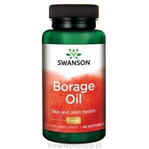 Borage Oil - suplement diety