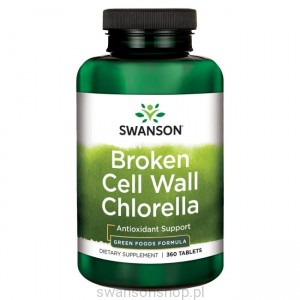 Chlorella (broken cell wall) 360 tab. - suplement diety