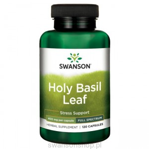 Full Spectrum Holy Basil 400mg 120kaps - suplement diety
