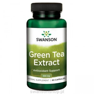 Green Tea Extract 500mg 60kaps - suplement diety