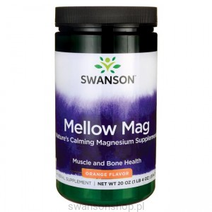 Mellow Mag - smak pomarańczowy 554g - suplement diety