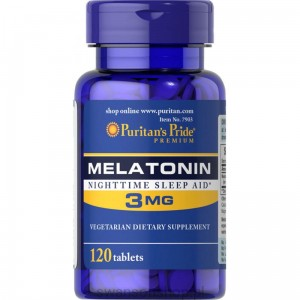 Puritan's Pride Melatonina 3 mg