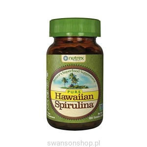 Hawaiian Spirulina® SPIRULINA HAWAJSKA PACIFICA 500 mg (100 tabletek) - suplement diety