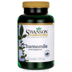 Chamomile 350mg 120 kaps - suplement diety