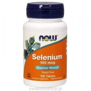 NOW Foods Selen 100mcg 100tab