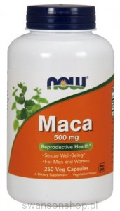 NOW Foods MACA 500 MG 250kaps