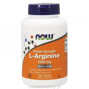 NOW Foods L-arginina 1000mg 120tab