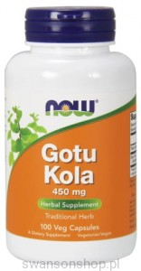NOW Foods GOTU KOLA 450 MG