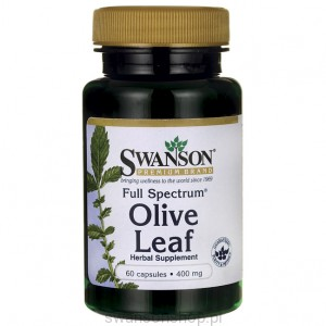 Full Spectrum Olive Leaf 400mg 60kaps - suplement diety