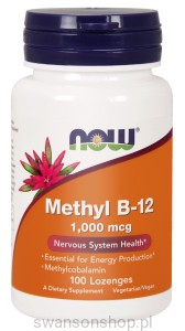 NOW Methyl Metylokobalamina B-12 1000mcg