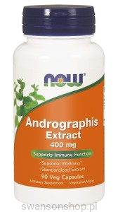 NOW Foods Andrographis Extract 400 mg – 90 kaps