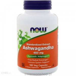 NOW Foods Ashwagandha Extract 180kaps