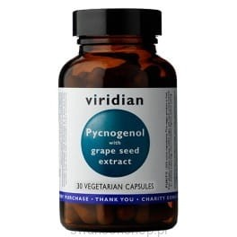 Viridian Pycnogenol with grape seed extract