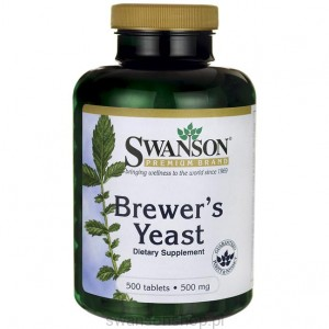 Brewer's Yeast 500mg 500tabs