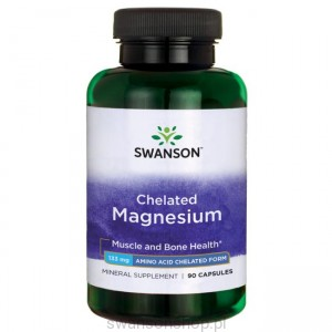 Albion Chelat Magnezu 133mg 90 kaps - suplement diety