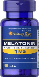 Melatonina 1 mg / 90 tab - suplement diety