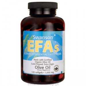 Olive oil extra virgin 1000mg 120sgels - suplement dietu