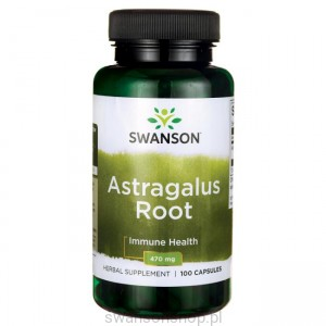 Astragalus 470mg 100 kaps - suplement diety