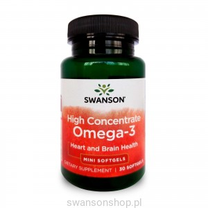 High Concentrate Omega-3 30sgels