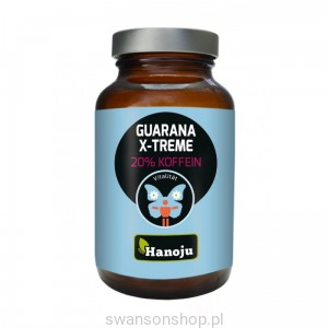 Hanoju Guarana X-treme z 10% kofeiny 500mg 90 tabletek