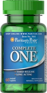 Puritan's Pride Multiwitaminy COMPLETE ONE