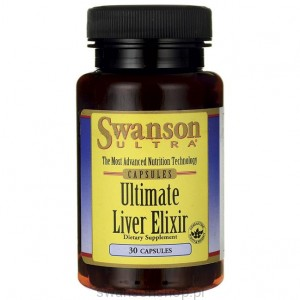 Ultimate Liver Elixir 30 kaps - suplement diety