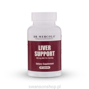 Liver Support  (dr Mercola) (60 kapsułek) - suplement diety