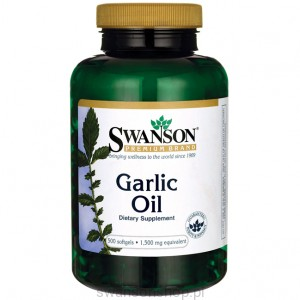 Garlic Oil - suplement diety