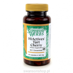 HiActives Tart Cherry - suplement diety