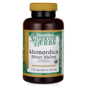 Momordica Bitter Melon 120kaps - suplement diety
