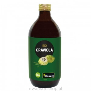 Hanoju Bio Graviola Puree 500 ml