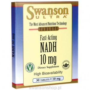NADH 10mg 30 tabletek - suplement diety