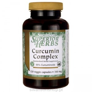 Curcumin complex 350mg 120caps - suplement diety