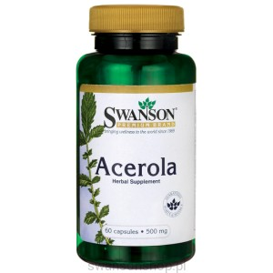 Acerola 500mg 60caps - suplement diety