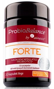 Aliness ProbioBalance   FORTE  30 kapsułek Vege (Suplement diety)