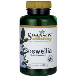 Boswellia 400mg 100 kaps - suplement diety