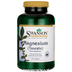Taurynian Magnezu 100mg 120tab - suplement diety