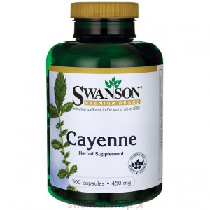 Cayenne 450mg 300kaps - suplement diety