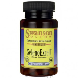SelenoExcell 200mcg 60kaps - suplement diety